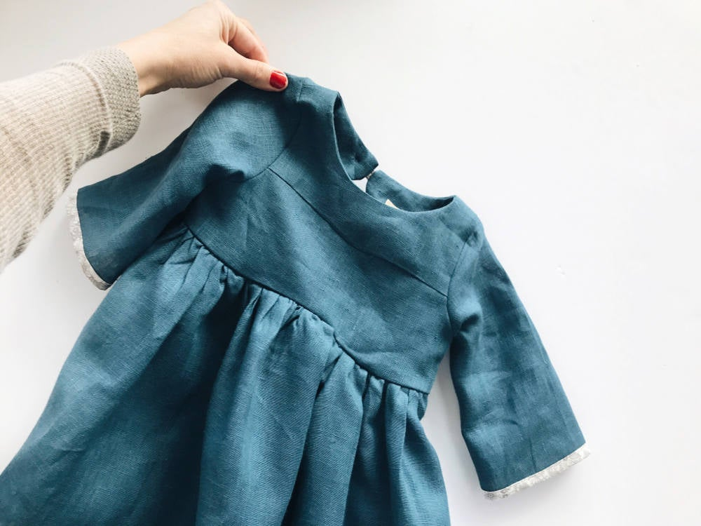 Image of NEW- The Willa Dress- Blue