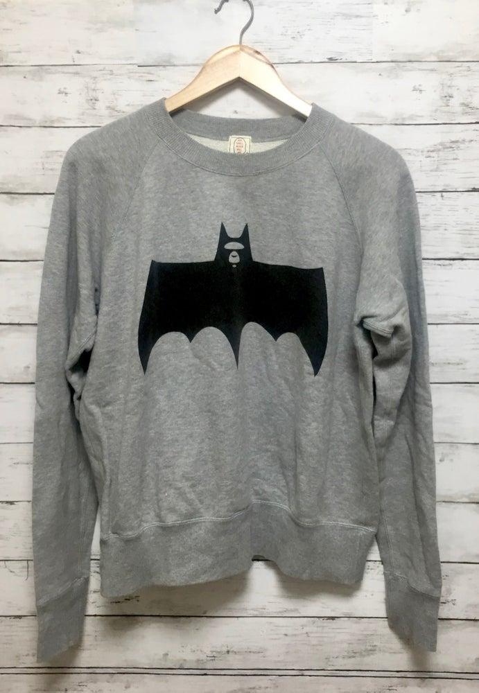 Image of Bape Vintage Batman Bapeman Logo Sweatshirt