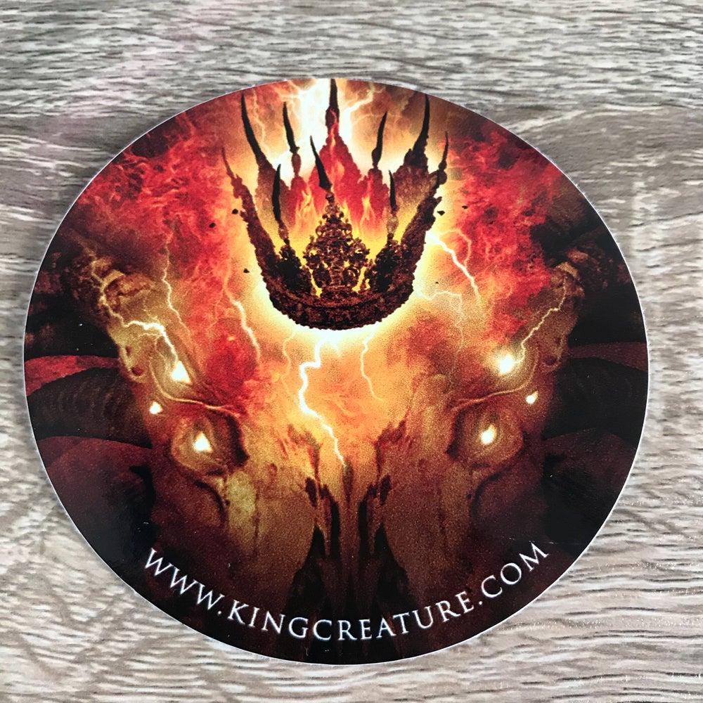 Image of KC Round Vinyl Sticker