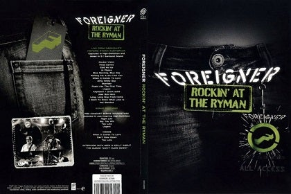 Image of FOREIGNER - Rockin' At The Ryman - Edition DVD Jewelcase