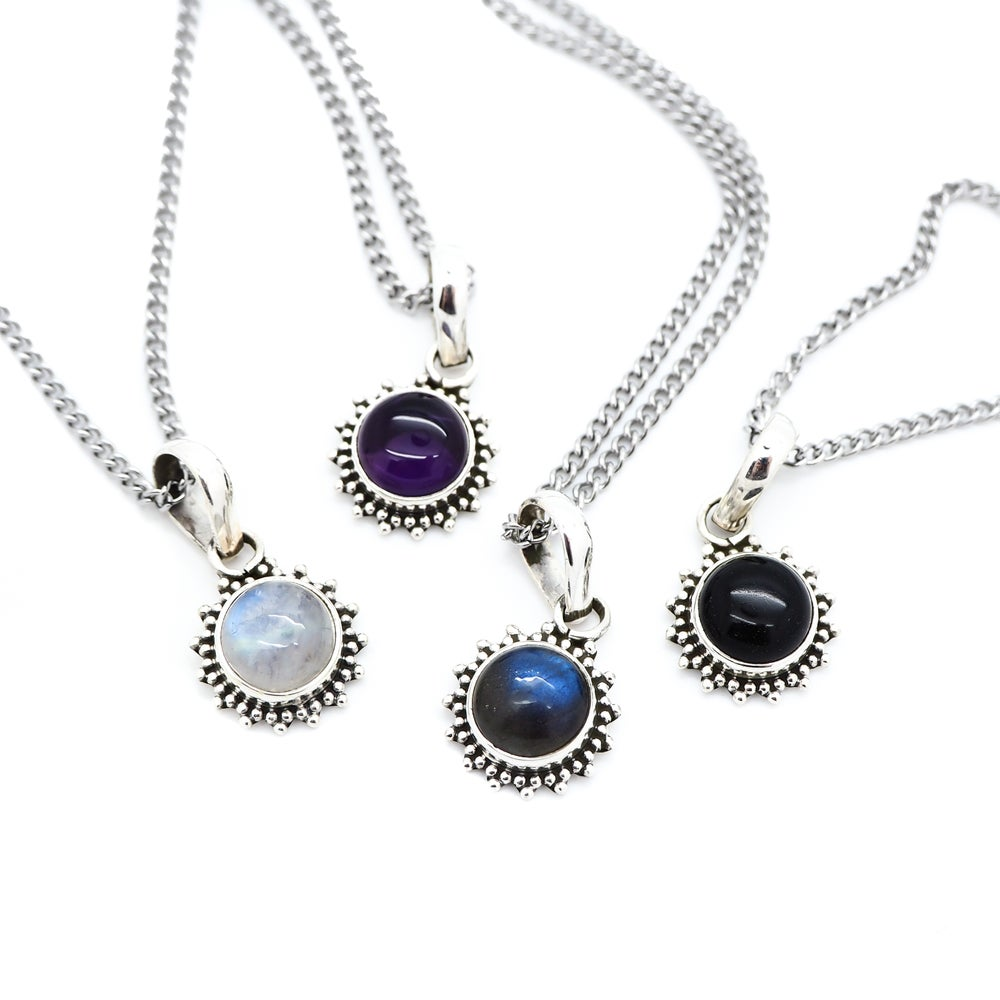 Image of Gemstone Equinox Necklace