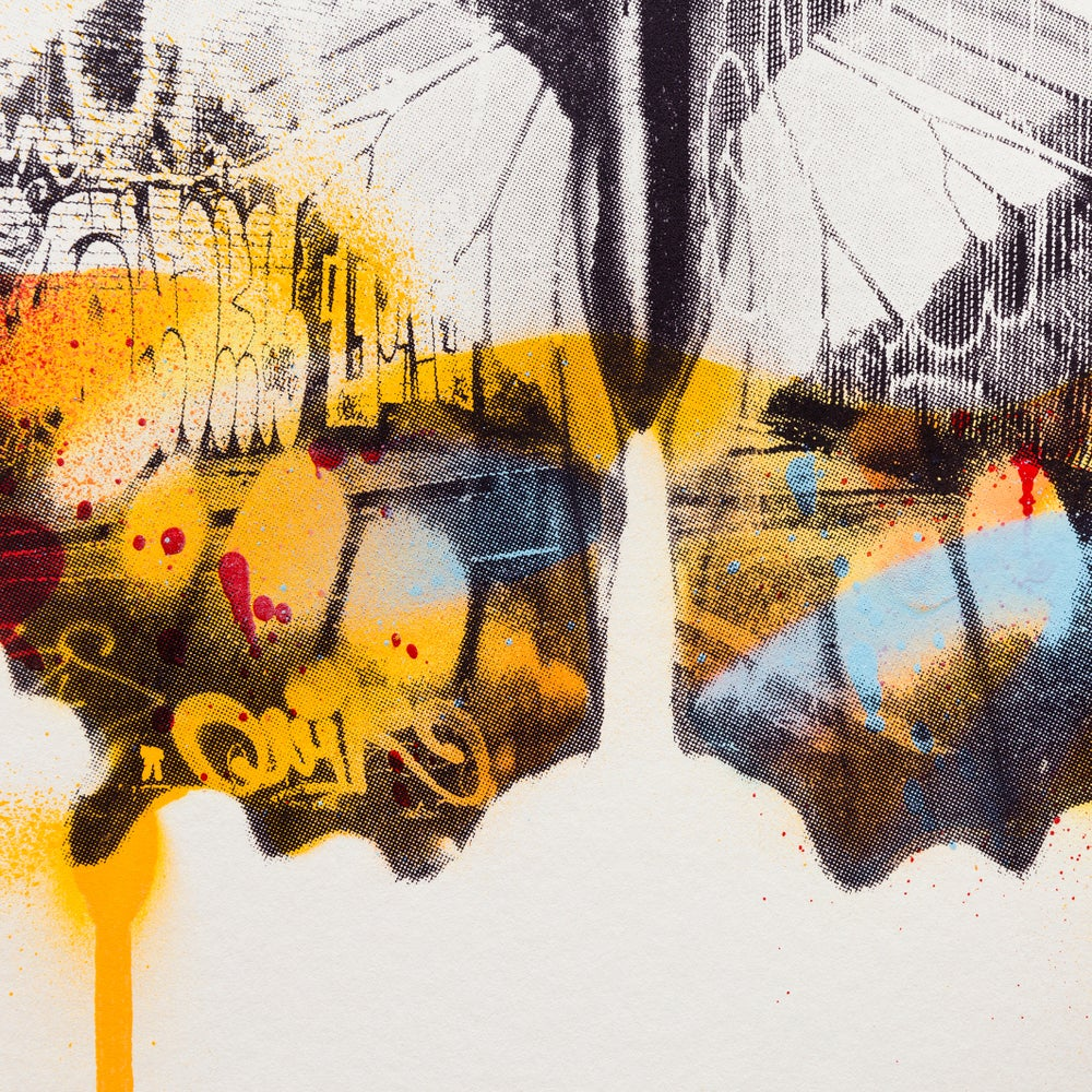 Image of Graffiti Buttrefly (Orange)