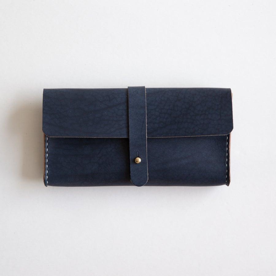 Image of Navy Clutch Wallet