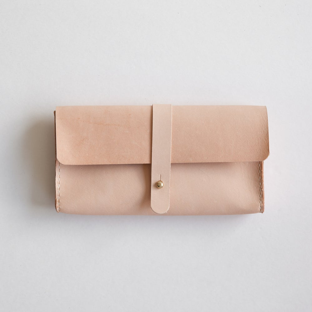 Image of Vegetable Tanned Clutch Wallet