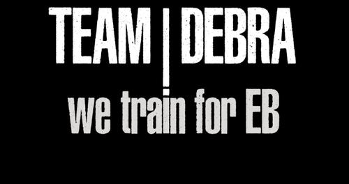 Image of TEAM DEBRA Athletic Training T-Shirt
