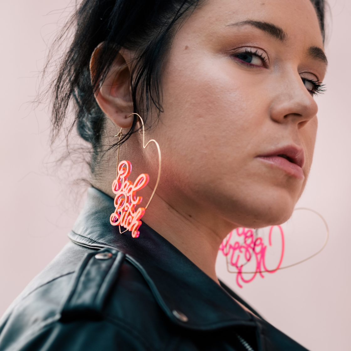Image of Multitudes hoops — Alliewach x Eythink