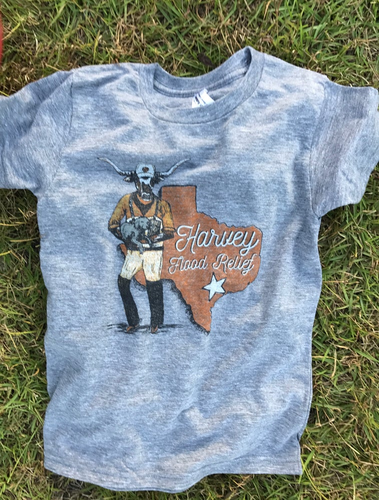 Image of Youth Harvey Flood Relief Tee