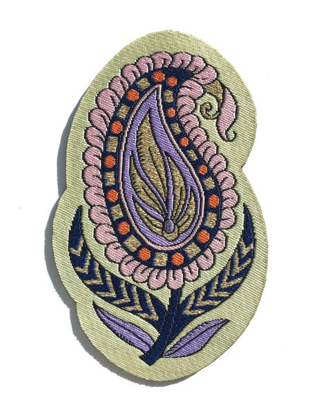 Image of Paisley Iron-on Patch