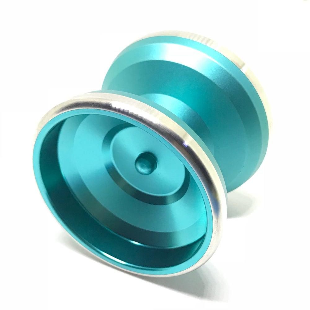 Image of Singwon Yoyo Patriot Bimetal (Turquoise)