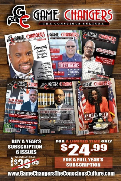 Image of Quarter Page Ad In Game Changers Magazine