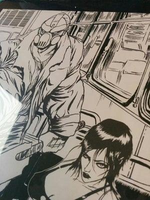 Image of HACK & SLASH 8.5 x 11 inch original art