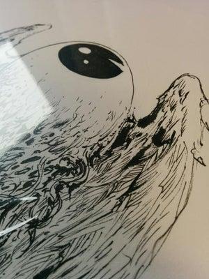 Image of EYEBALL inked art