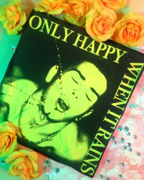 "Image of ""ONLY HAPPY WHEN IT RAINS"" TEE"
