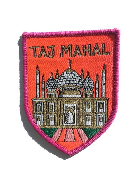 Image of Taj Mahal Iron-on Patch