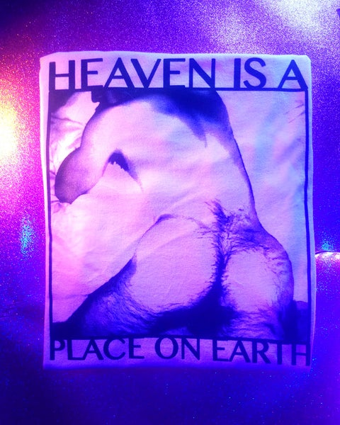 "Image of ""HEAVEN IS A PLACE ON EARTH"" TEE"