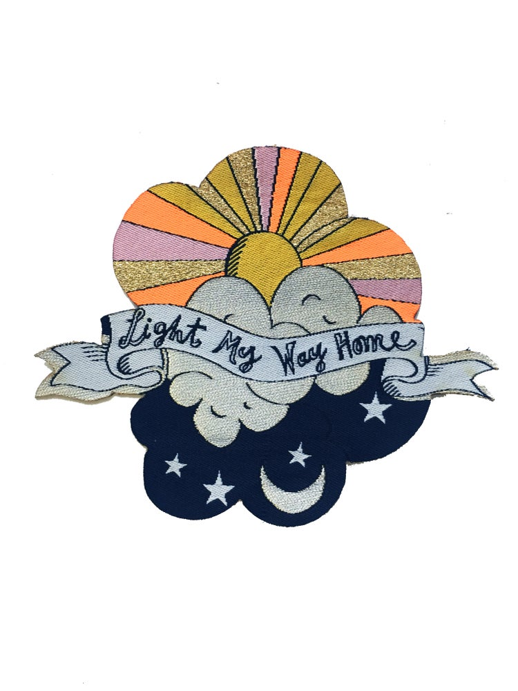 Image of Light My Way Home Iron-on Patch
