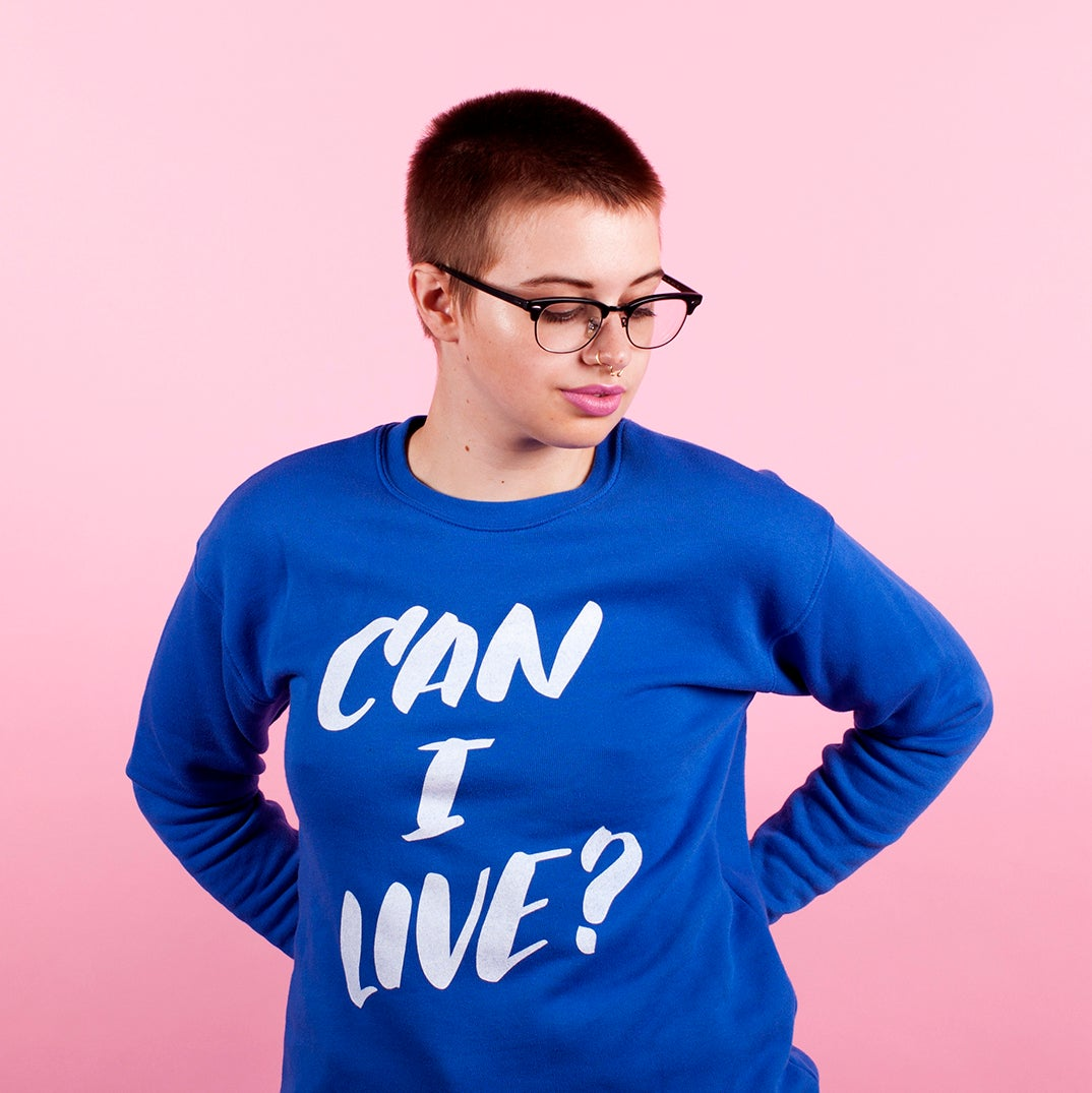 Image of Can I Live? VERY SOFT sweatshirt