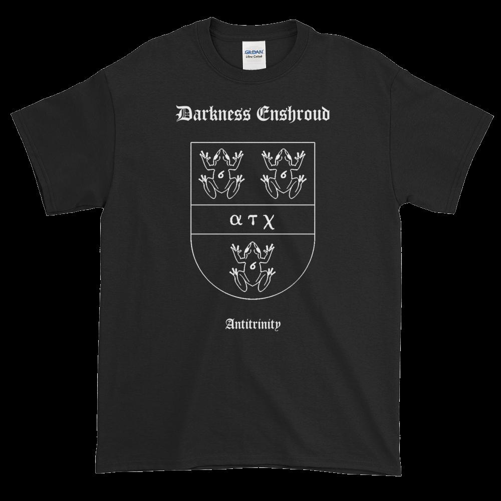 """Image of Darkness Enshroud - """"Antitrinity Coat of Arms"""" shirt"""