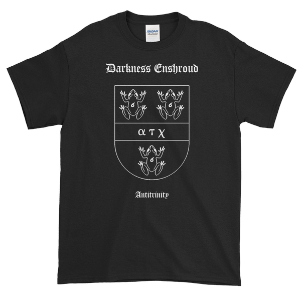 "Image of Darkness Enshroud - ""Antitrinity Coat of Arms"" shirt"