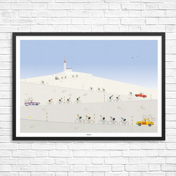 Image of Mt Ventox Giclee Print