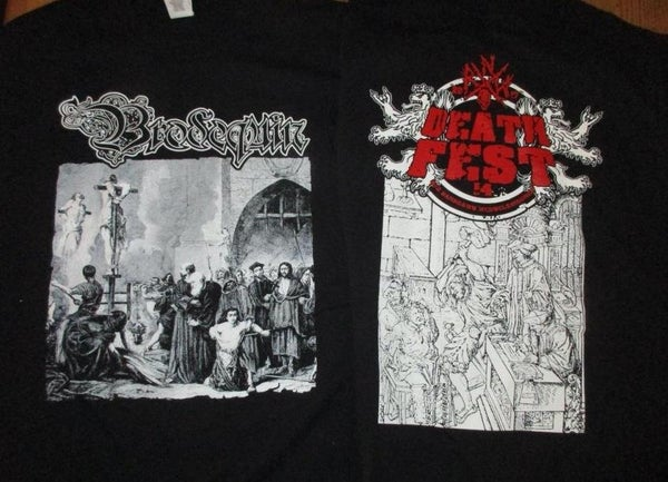 "Image of ""Inquisition"" T-Shirt (NRW Deathfest Edition)"