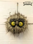 Image of Hanging Owly Fuzzball Heads