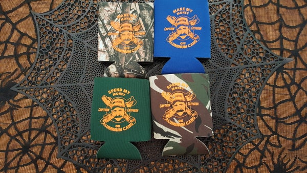 Image of 'Bacon Earnhardt' Koozies
