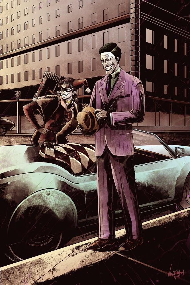 """Image of """"1950"""" - Inspired by Joker & Harley"""