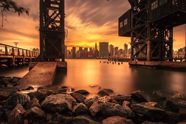 Image of Gantry Sunset