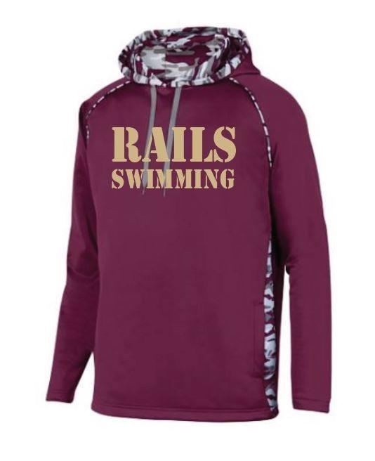 Image of Rails Men's Team Sweatshirt | Camo