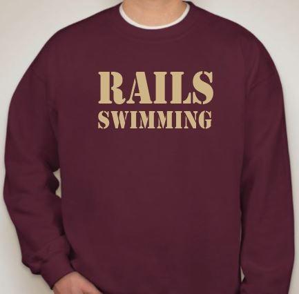 Image of Rails Men's Team Sweatshirt | Solid Crew