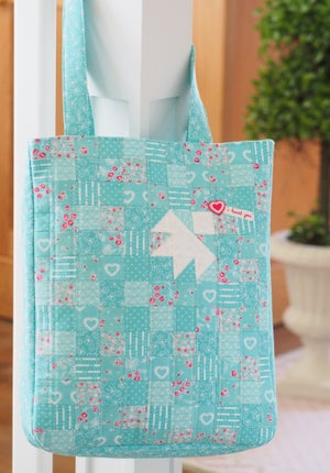Image of PDF ONLY - Lovebird Tote