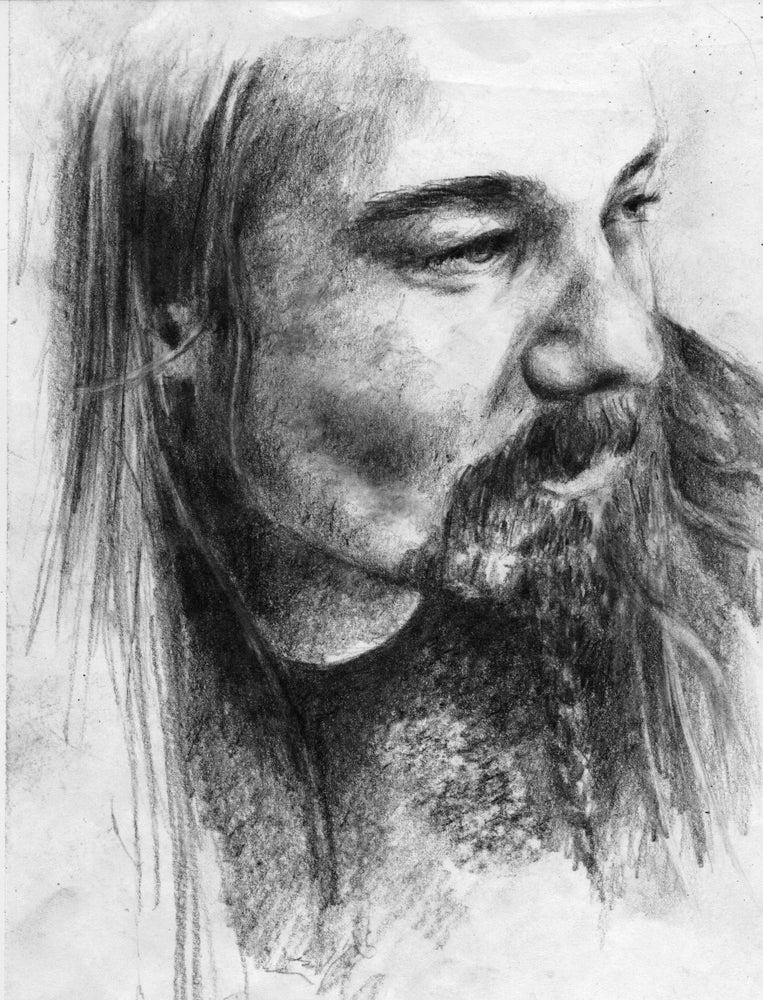 Image of Quorthon - Bathory - original artwork