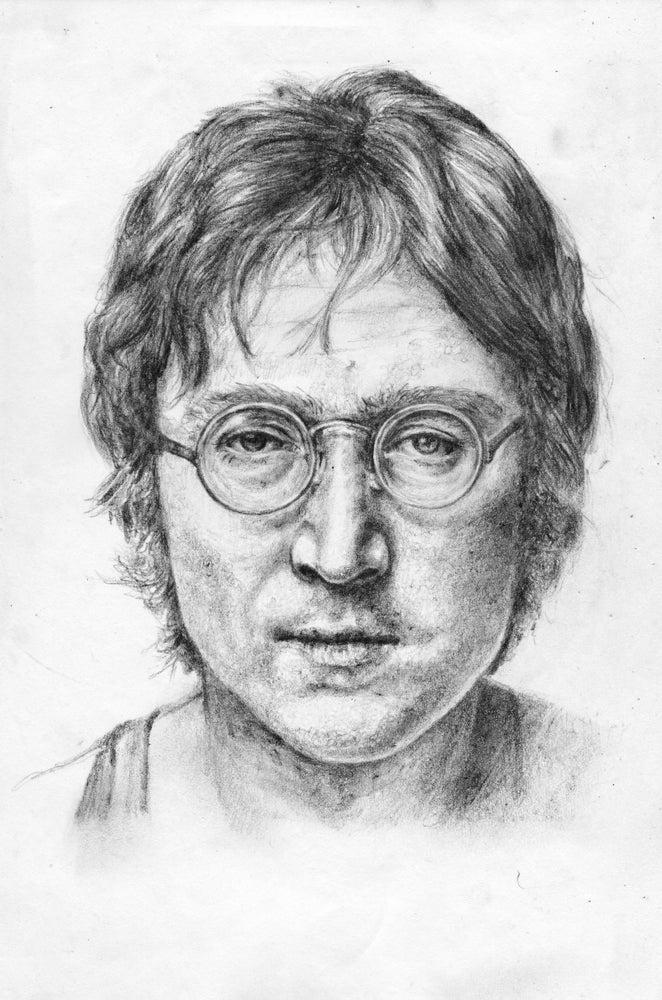 Image of John Lennon - The Beatles - original artwork