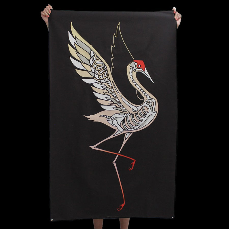 Image of CRANE TAPESTRY