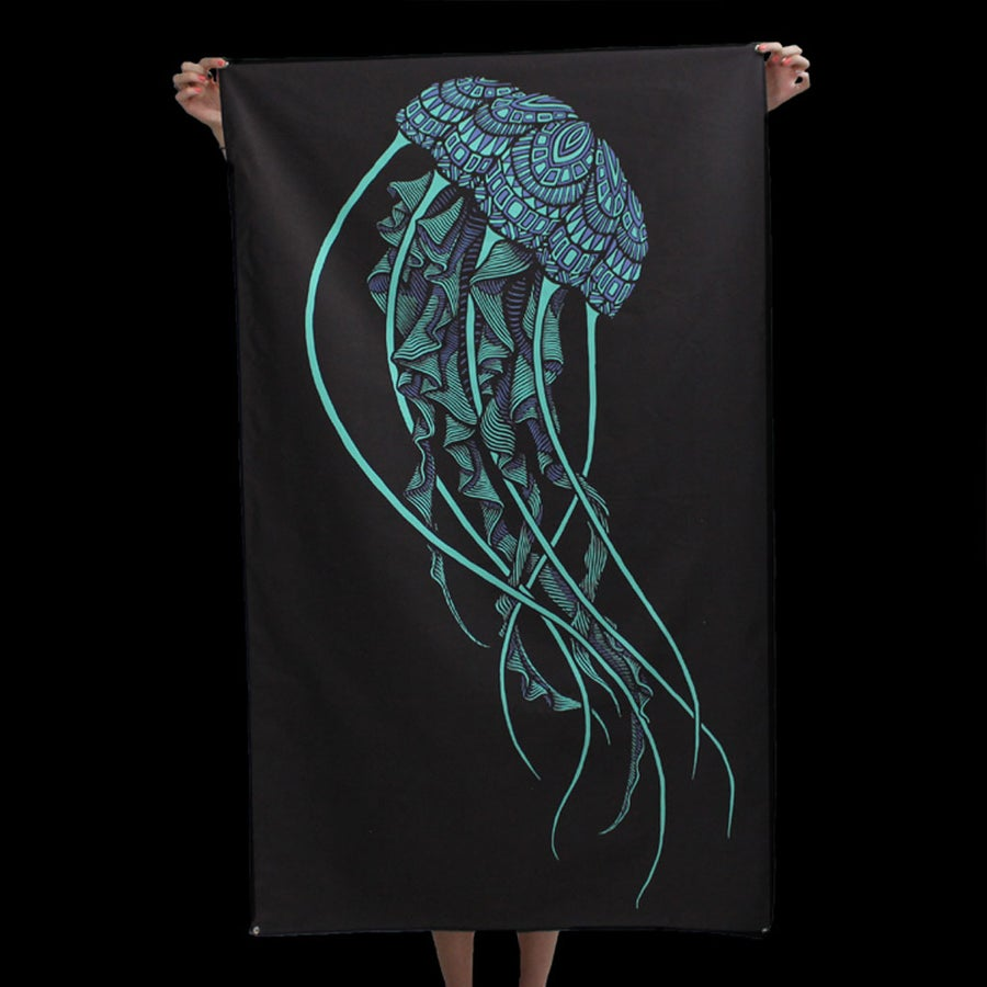 Image of JELLY FISH TAPESTRY