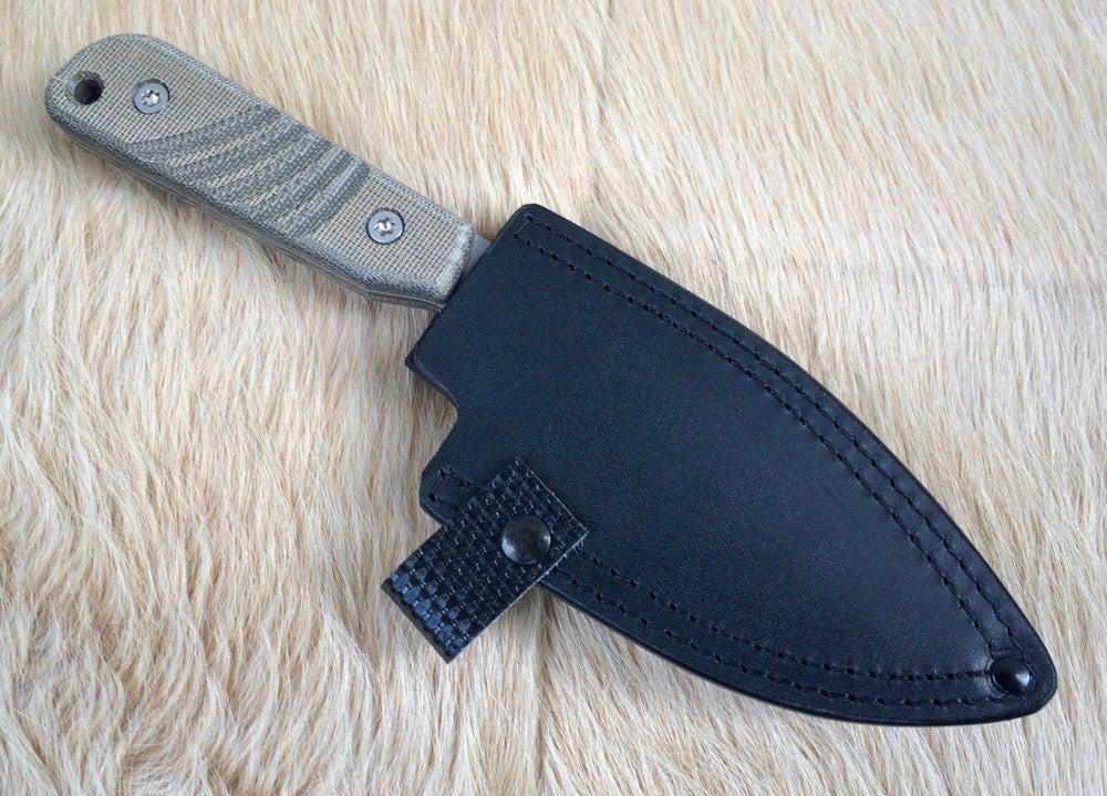 Image of Mytuko Cobalt Matte Blade with Sheath