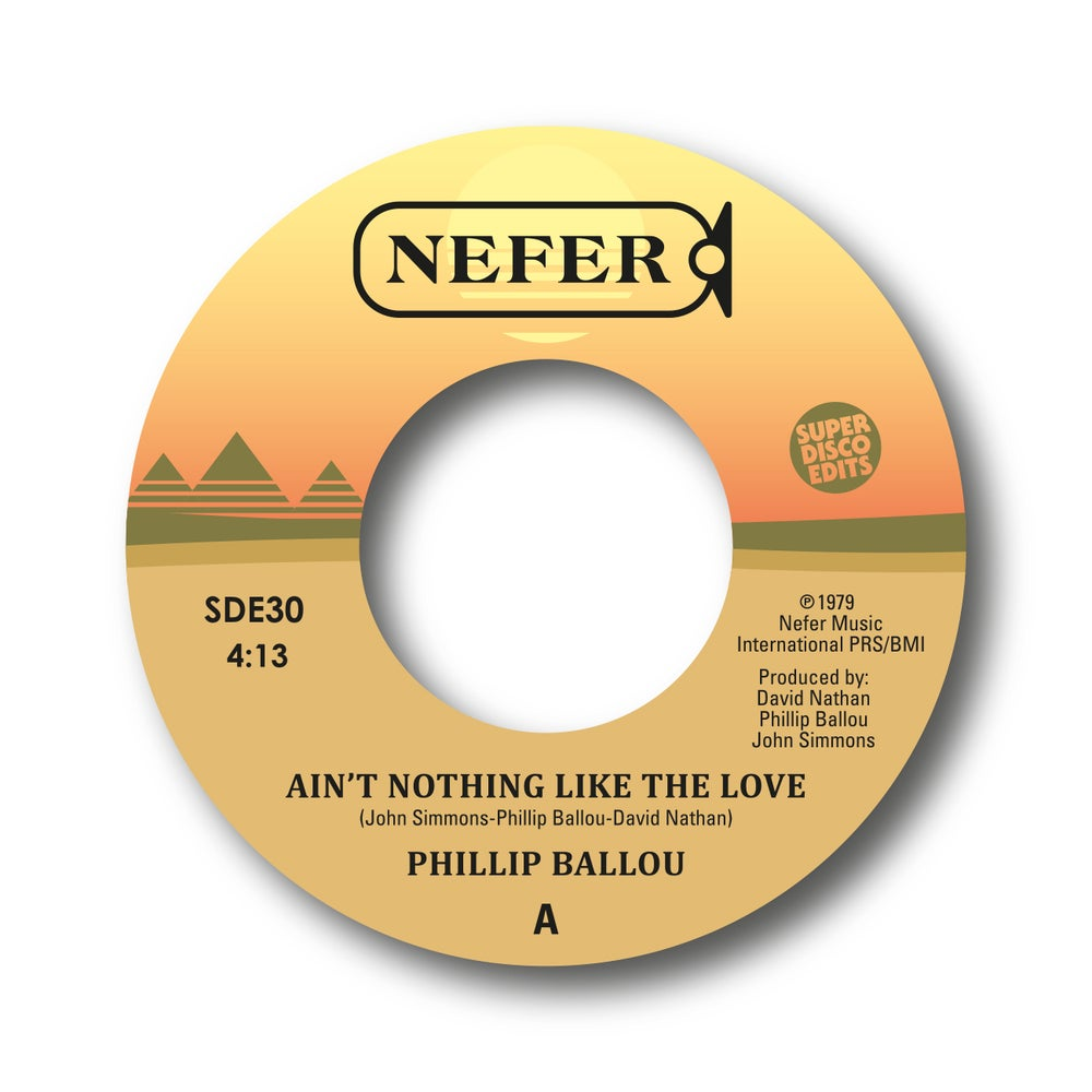 """Image of philip ballou """"aint nothing like your love""""/""""are you for real"""" nefer"""