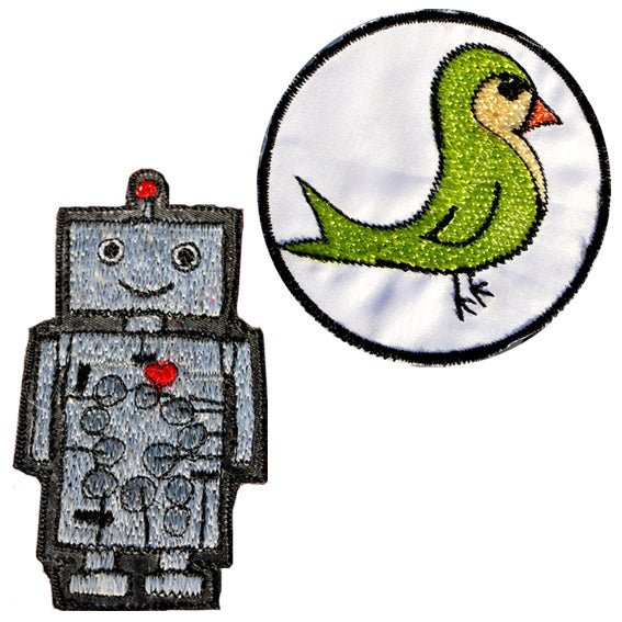 Image of Patches: Robo or Greenbird
