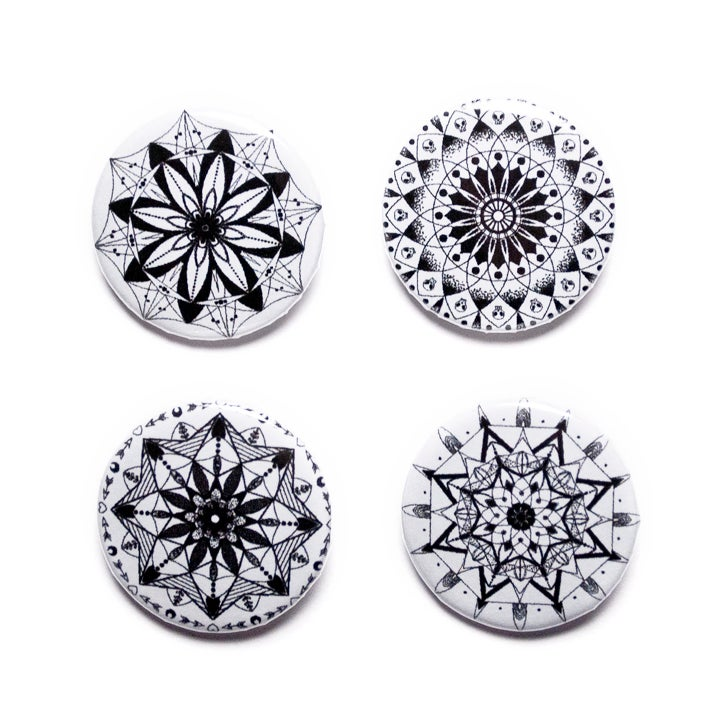 Image of Mandala Button Pack