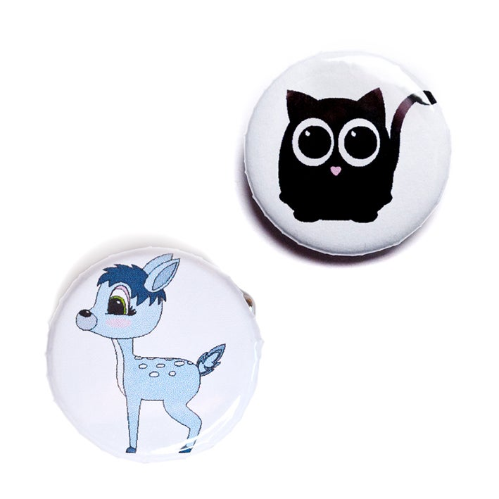 Image of Animal Baby Buttons