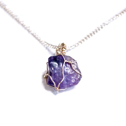Image of Amethyst Necklace