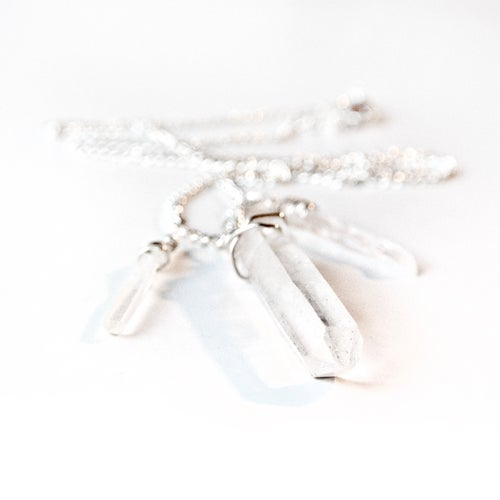 Image of Quartz necklace
