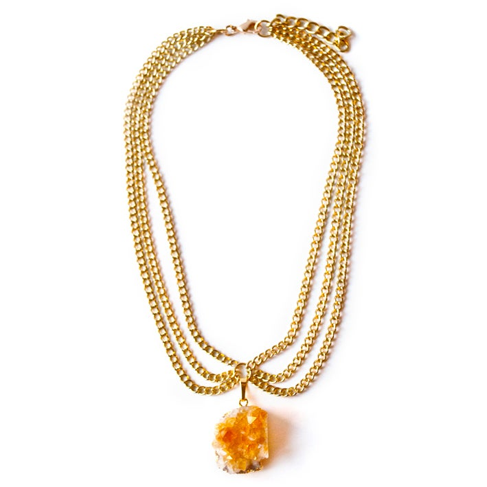 Image of Citrine necklace