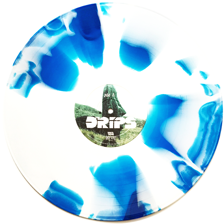 """Image of The Drips - The Drips 12"""" Vinyl (Deluxe Edition) Scratch n' Sniff Cover!"""