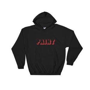 Image of Red Paint Hoodie