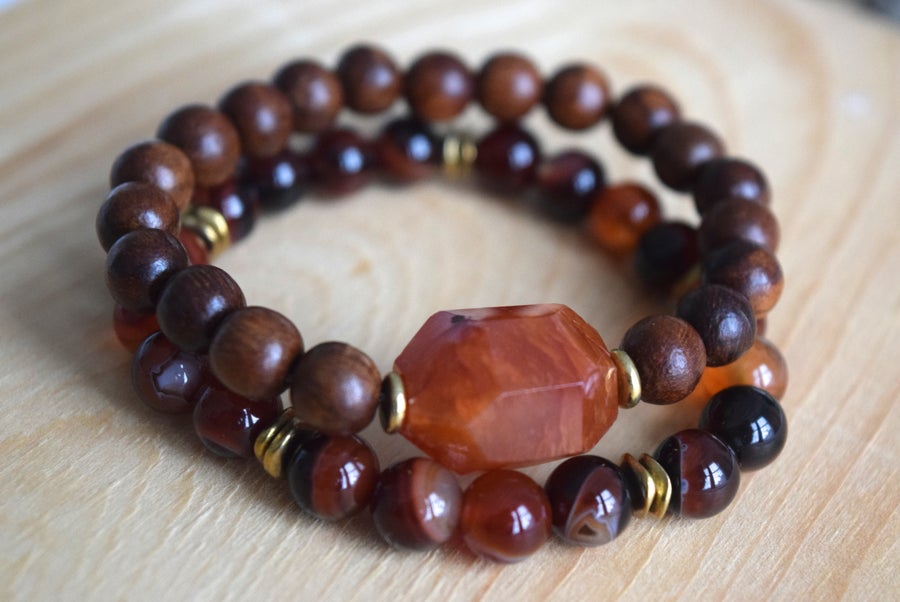 Image of The Carnelian Agate set
