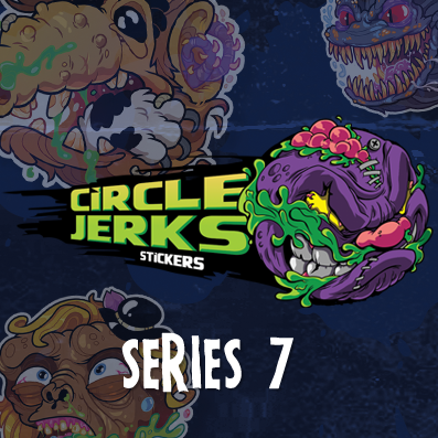 Image of CIRCLE JERKS STICKERS™ SERIES 7