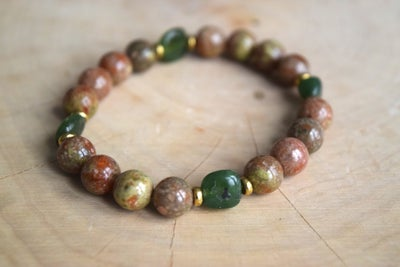 Image of The Jasper Jade bracelet