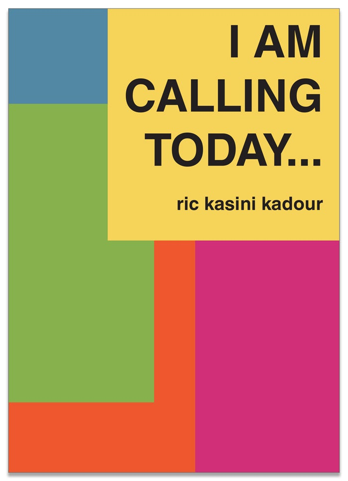Image of I Am Calling Today...